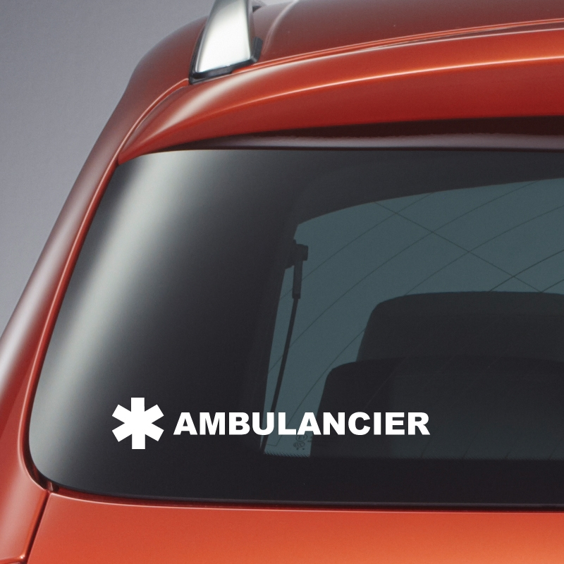 Sticker ambulancier 1