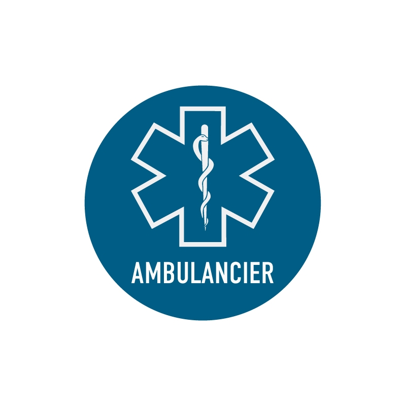 Sticker ambulancier 4