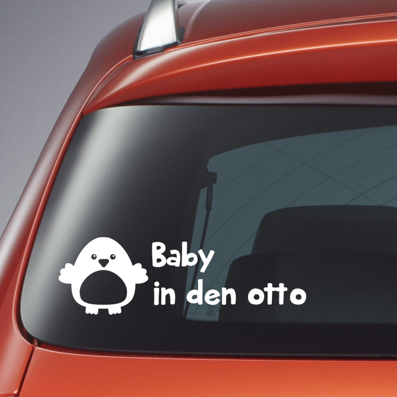 autosticker vogel